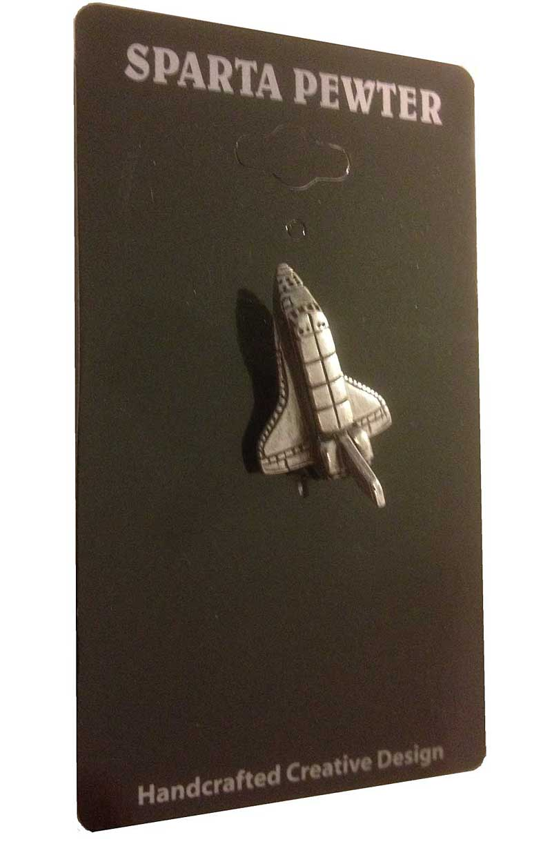 Space Shuttle Lapel Pin / Tie Tack