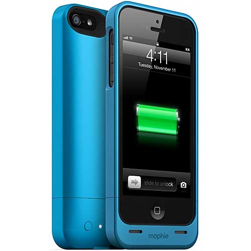 mophie Juice Pack Helium for iPhone 5, Blue