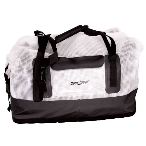 Large Duffel, Clear