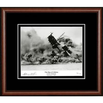 Day Of Infamy Autographed Framed Photograph