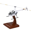 Robinson R-22 Model Helicopter (1:24)