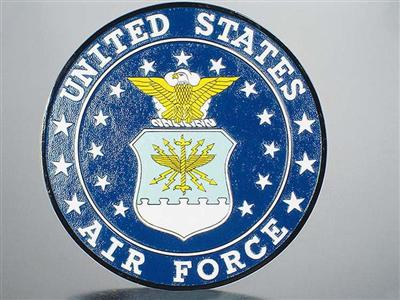 Air Force Seal Wood Model Wall Plaque