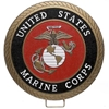 Marine Corps Seal Wood Model Wall Plaque