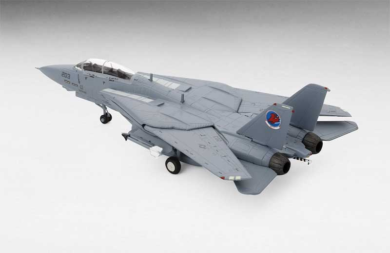 "F-14A Tomcat VF-1 #203 Top Gun Movie ""Cougar & Merlin"" (1:200)"