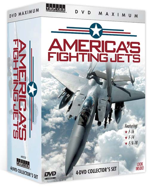 America's Fighting Jets (DVD)