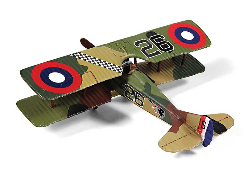 Spad XIII, 2nd Lt. Frank Luke, 27th Aero Sqn., 1918 (1:72)
