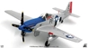 P-51D Mustang, USAAF 352nd FG, 328th FS, #44-14906 Cripes A' Mighty , George Preddy, Asche Airfield, Belgium, December 25th 1944 (1:72) - Preorder
