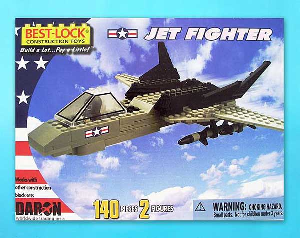 Jet Fighter 140 Piece Construction Toy