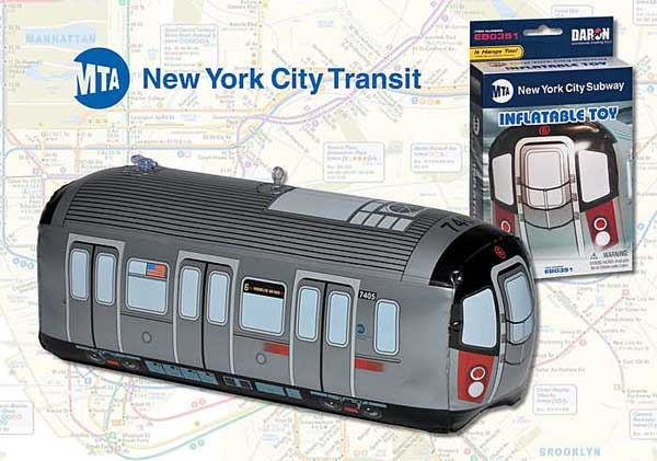 MTA Inflatible Subway Car