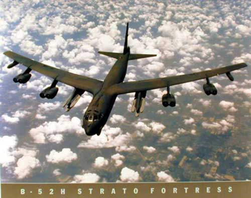 B52H Stratofortress Poster
