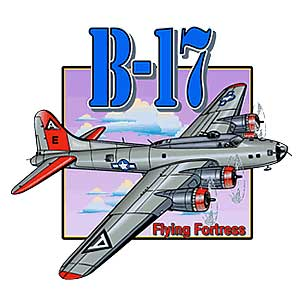 B-17 Flying Fortress T-Shirt