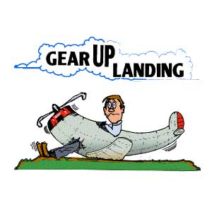 Gear Up Landing T-Shirt
