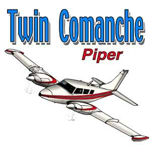 Piper Twin Comanche T-Shirt
