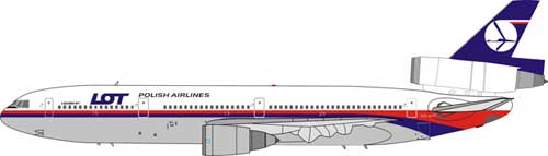 Malaysia Airlines/LOT DC-10-30 (1:200)