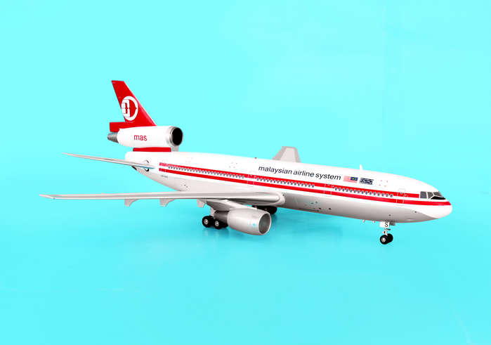 Malaysian Airline System DC-10-30 ~9M-MAS (1:200)