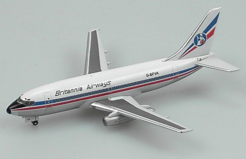 "Britannia 737-200 ""Blue Titles"" (1:400)"