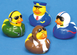 Pilot Ducks (Package of Four different Ducks)