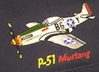 P-51 Mustang Embroidered Hat