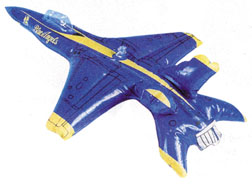 Navy Blue Angel Inflatable Toy
