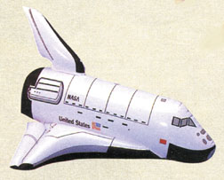 Space Shuttle Inflatable Toy
