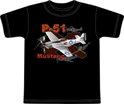 Metallic Mustang Kids T-shirt