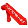 Remove Before Flight Neck Tie