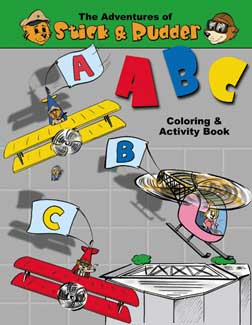 Stick and Rudder ABC Coloring and Activity
