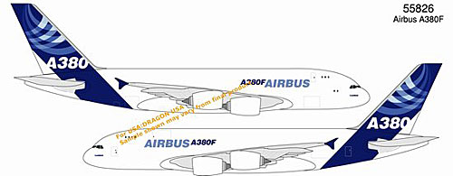 Airbus A380F (Freighter) - New Airbus House Colors (1:400)