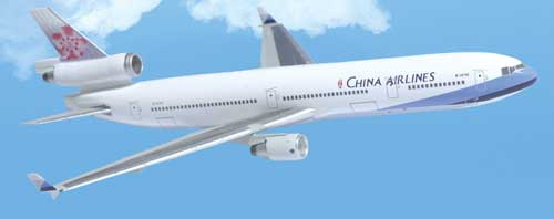 "China Airlines MD-11 ""Current Livery"" (1:400)"