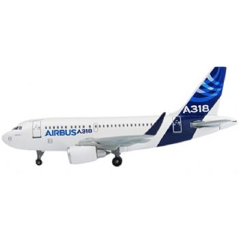 Airbus A318 with Sharklets (Sharklet Special Livery), Corporate Model (1:400)