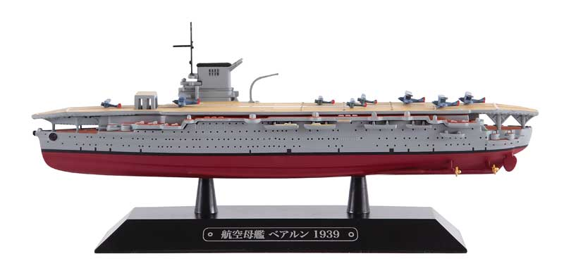 French Aircraft Carrier Bearn - 1939 (1:1100)