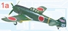 Ki-84 Hayate Frank Hitachi Flight Instructor Division (1:144)