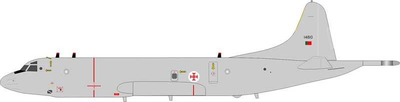 Portugal Air Force P-3C Orion 14810 (1:200)