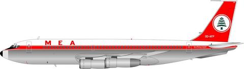 MEA Boeing 720-023B OD-AFP (1:200) - Preorder item, Order now for future delivery