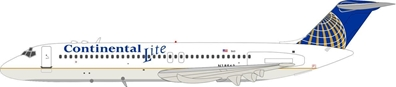 Continental Lite Airlines DC-9-31 N18563 (1:200) - Preorder item, Order now for future delivery