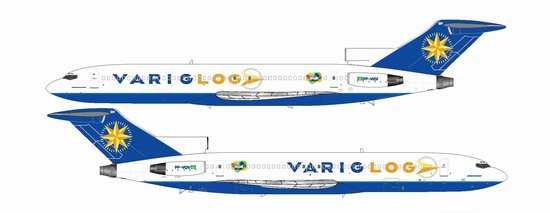 Varig Log B727-200 ~ PP-VQV (1:200)