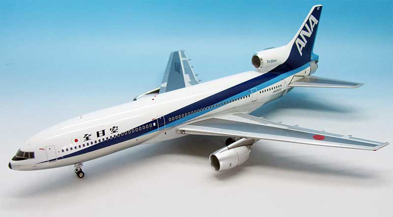 ANA L-1011 JA8522 (1:200) Polished Belly, Japanese Titles