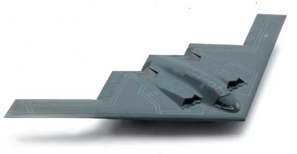 B-2 Stealth (1:72) Bomber Easy Build Model Kit