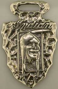 Indian Motorcycle Watch FOB Sterling
