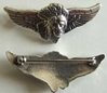 Indian Motorcycle Wing 2 inch Sterling