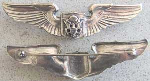 Air Force Officer Aircrew Sterling Prototype Wing