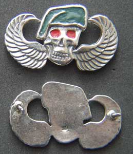 US Army Special Forces Vietnam Badge Sterling