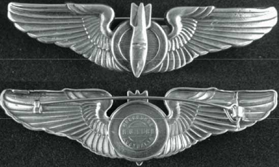 Bombardier Pin WWII, Bombardier, Sterling wings, Sterling Bombardier, Bombardier wings