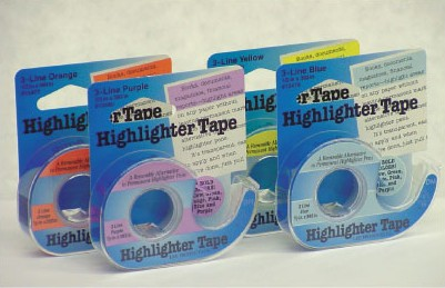 Highlighter Tape - Yellow