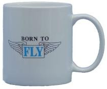 Coffee Mug - Born To Fly
