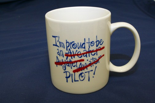 Coffee Mug - Proud to be a pilot