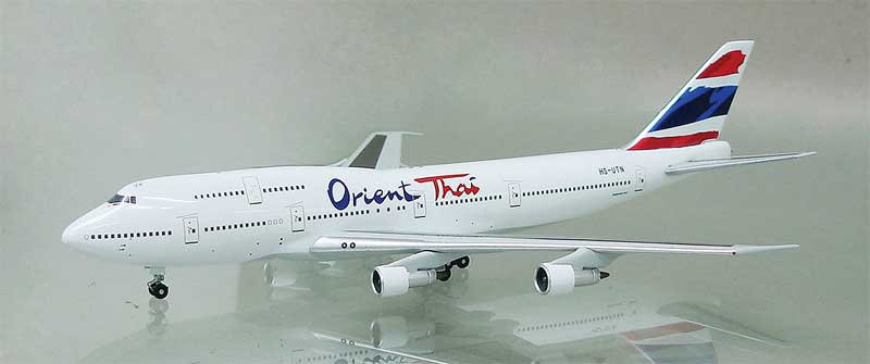 Orient Thai Airlines 747-346 HS-UTN (1:400)