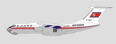 Air Koryo Ilyushin Il-76MD P-912 (1:400)