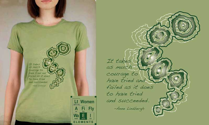 Element:Earth/Anne Lindbergh T-shirt
