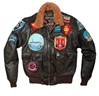"""Movie Heroes"" Top Gun Navy G-1 Jacket"